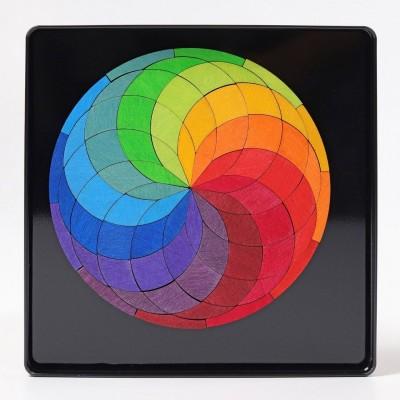 Caixa Magnética Espiral Colorida Grimm's