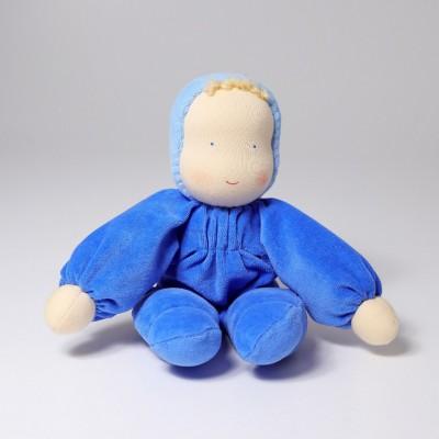 Boneco Waldorf Azul Grimm's