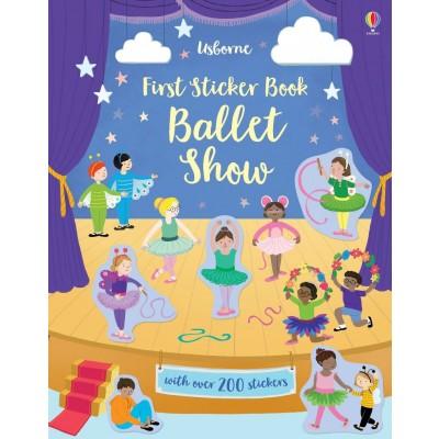 First Sticker Book Ballet Show 3+