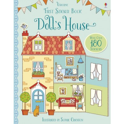 First Sticker Book Doll's House 3+