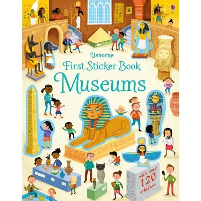First Sticker Book Museums 3+