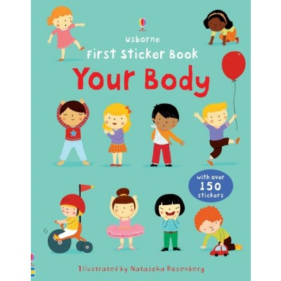 First Sticker Book Your Body 3+