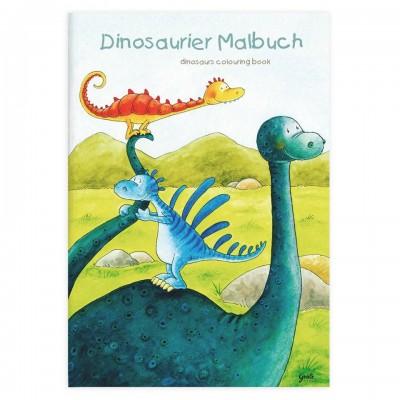 Livro A4 para Colorir Dinos