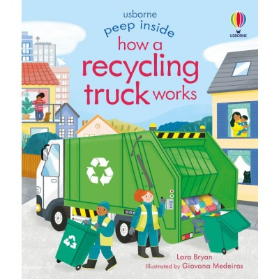 How a Recycling Truck Works 3+