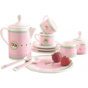 Serviço de Chá Cogumelo Felizardo