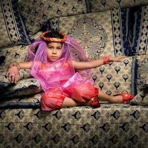 Disfarce Princesa Árabe 3-5 anos
