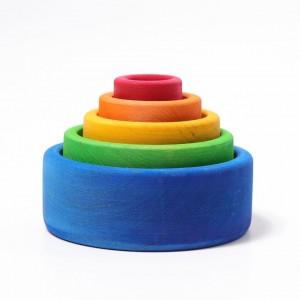 Taças de Encaixar Azul Grimm's
