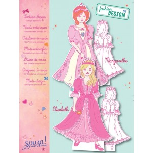 Kit Fashion Design Princesas