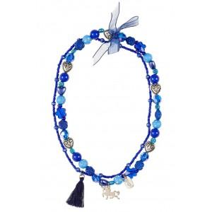 Colar Trish Azul