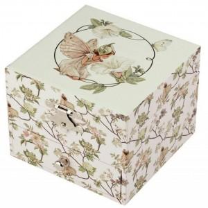 Caixa de Jóias Musical cubo Narciso
