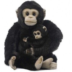 Chimpanzé e bebé WWF Plush Collection