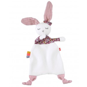 Doudou Bio Rabbit Girl