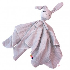 Doudou Bio Pink Rabbit