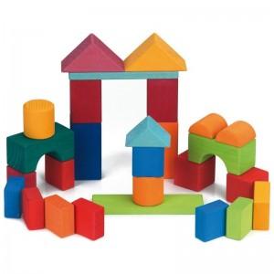 27 Blocos de Construção Geométricos Cor