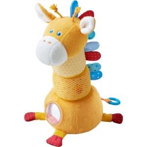 Girafa de Empilhar em Tecido