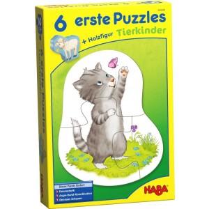 6 Puzzles Animais Bebés