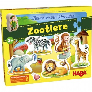 Puzzles XL Animais do Zoo