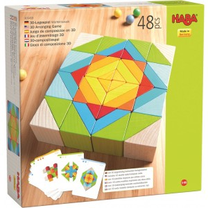 Blocos Mosaico 3D