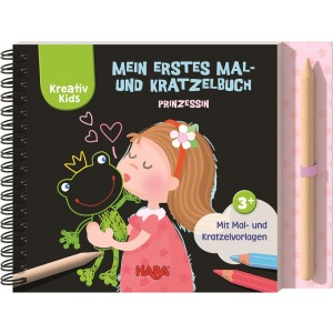 Livro de Actividades Princesas 3+