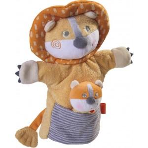 Fantoche Leão com Bebé