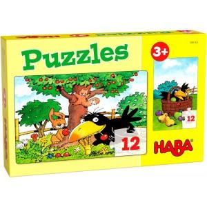 2 Puzzles Pomar - 12 peças