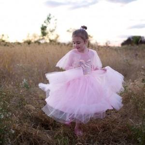 Disfarce Elegant Pink 6-8 anos