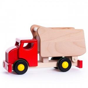 Camião Vermelho de Encaixes