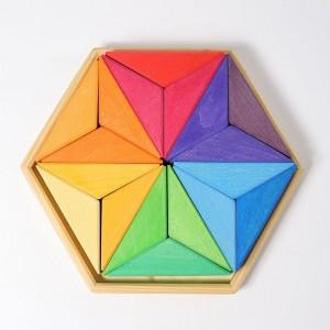 Mandala Estrela Complementar Grimm's
