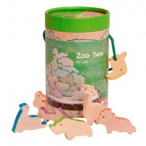 Conjunto de Animais do Zoo