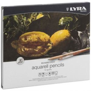 Lápis de Aguarela Finos Lyra 24 cores