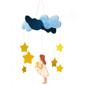 Mobile Menina das Estrelas Ostheimer