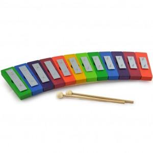 Metalofone Colorido Diatónico