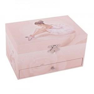 Caixa de Jóias Musical Bailarina Rosa