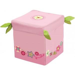 Banco/Caixa de Arrumação Flores