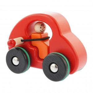 Carro Vermelho com Cinto