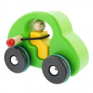 Carro Verde com Cinto