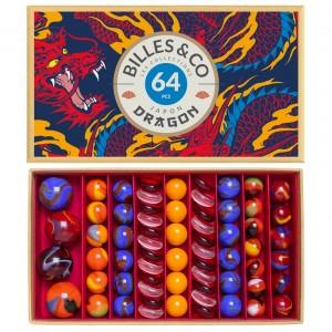 64 Billes&Co - Box Dragon Feu