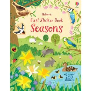 First Sticker Book Seasons 3+