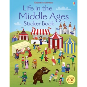 Life in The Middle Ages Sticker Book 5+