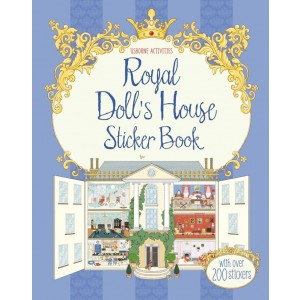 Royal Doll's House Sticker Book 5+