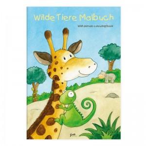 Livro A4 para Colorir Zoo