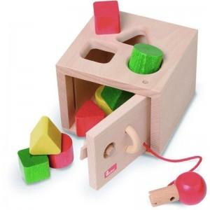 Caixa de Encaixes com Chave