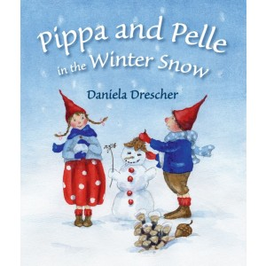Pippa and Pelle in the Winter Snow 1+