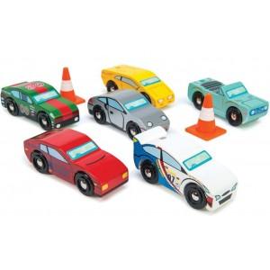 Conjunto de Carros de Corrida
