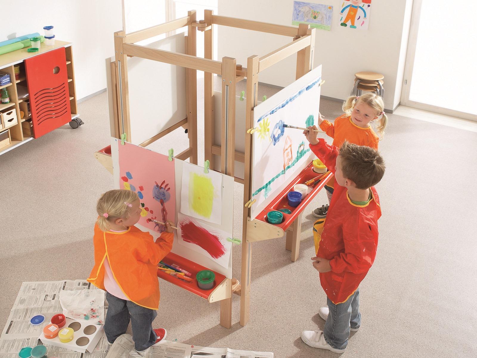 Sala de Pintura Jardim de Infância 2