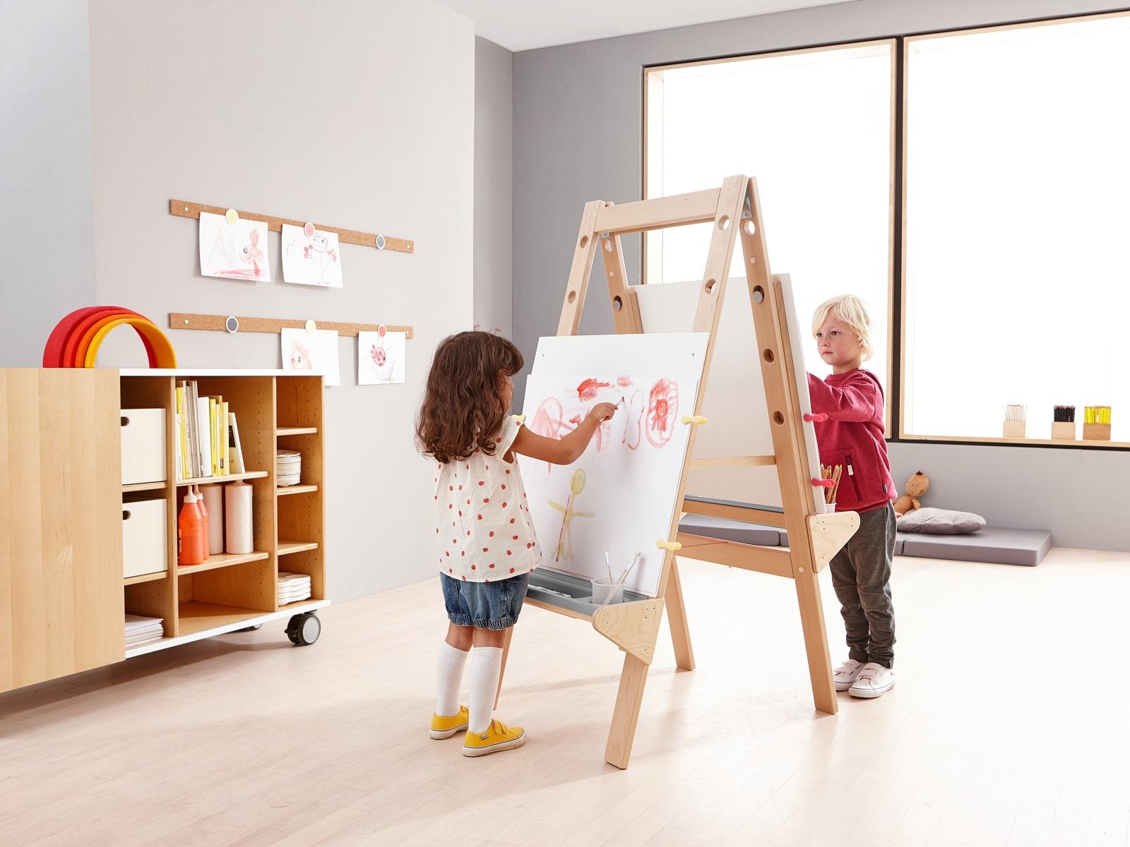 Sala de Pintura Jardim de Infância 1